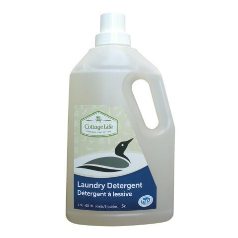 Cottage Life Laundry Detergent 1.8ml Cleaning Products Bebbington Industries- The Cabin Depot Off-Grid Off Grid Living Solutions Cabin Cottage Camp Solar Panel Water Heater Hunting Fishing Boats RVs Outdoors
