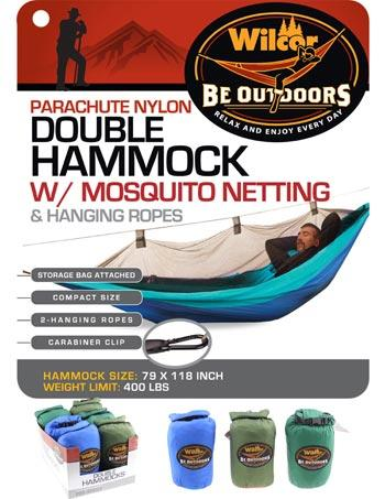 HAMMOCK PARACHUTE NYLON WITH NETTING