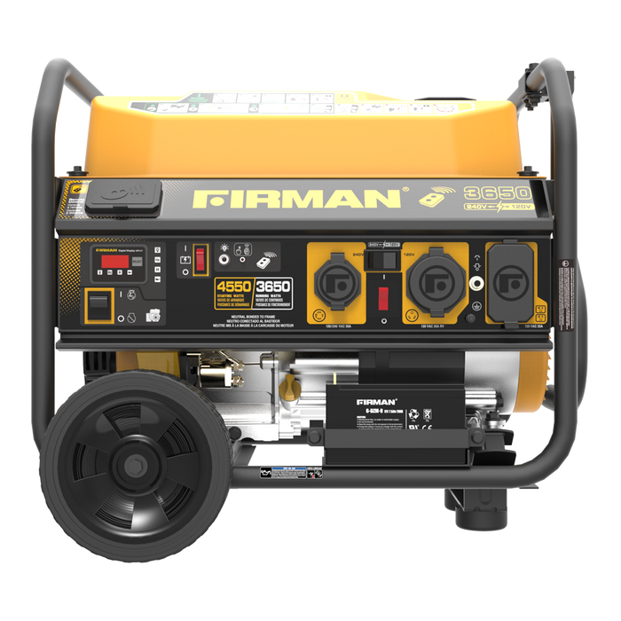 Firman Performance Series 4550/3650 Watt 120/240 CSA P03612 Generator Firman- The Cabin Depot Off-Grid Off Grid Living Solutions Cabin Cottage Camp Solar Panel Water Heater Hunting Fishing Boats RVs Outdoors