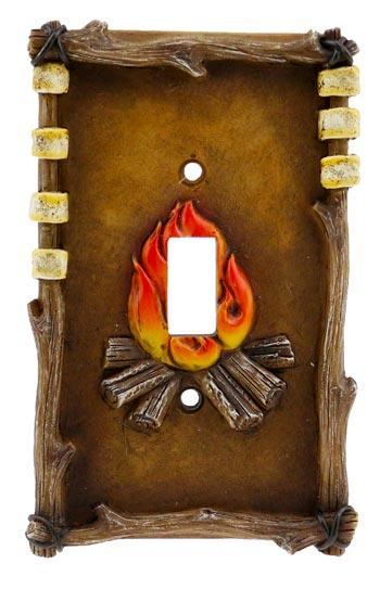 Switch Plate Cover single - Campfire