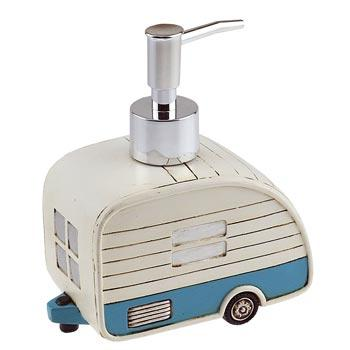 Retro Camper Soap Dispenser  The Cabin Depot- The Cabin Depot Off-Grid Off Grid Living Solutions Cabin Cottage Camp Solar Panel Water Heater Hunting Fishing Boats RVs Outdoors