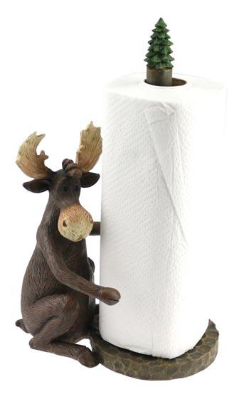 MAXIM MOOSE PAPER TOWEL HOLDER