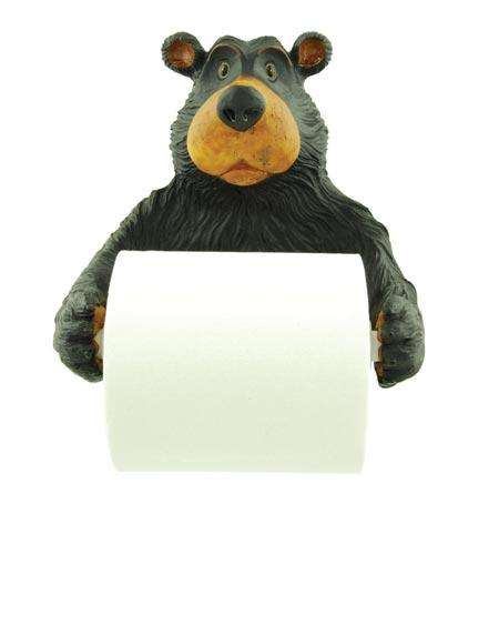 Willie Bear Wall Mount Toilet Paper Holder  The Cabin Depot- The Cabin Depot Off-Grid Off Grid Living Solutions Cabin Cottage Camp Solar Panel Water Heater Hunting Fishing Boats RVs Outdoors