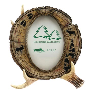 Frame Antler And Pine 4x6