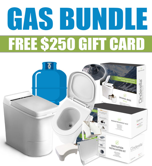 Cinderella Gas Bundle w/ Urinal