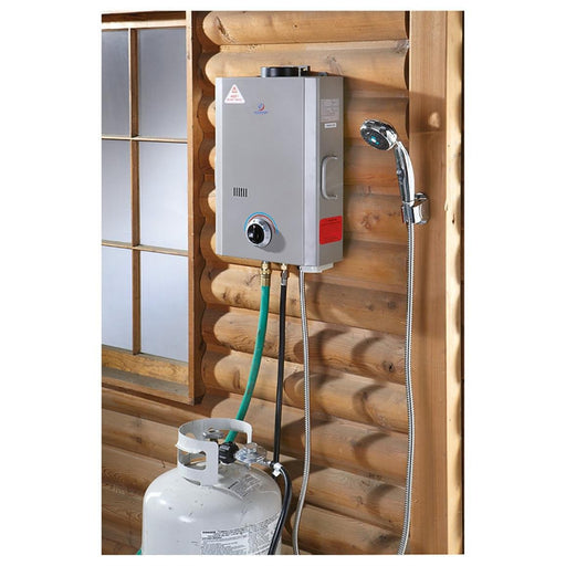 Eccotemp L7 Portable Tankless Water Heater Water Heater Eccotemp- The Cabin Depot Off-Grid Off Grid Living Solutions Cabin Cottage Camp Solar Panel Water Heater Hunting Fishing Boats RVs Outdoors
