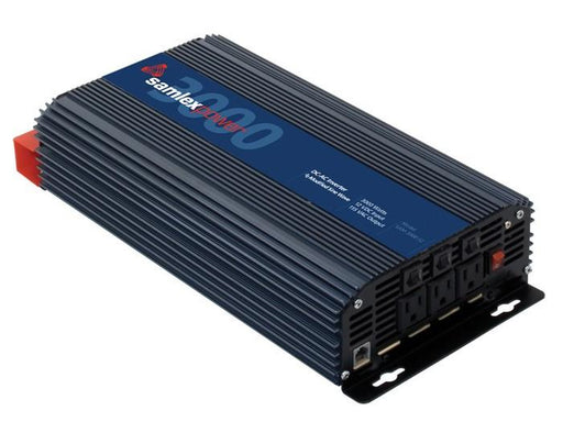 Samlex SAM-3000-12 Modified Sine 3000w Inverter Alternative Energy Samlex- The Cabin Depot Off-Grid Off Grid Living Solutions Cabin Cottage Camp Solar Panel Water Heater Hunting Fishing Boats RVs Outdoors
