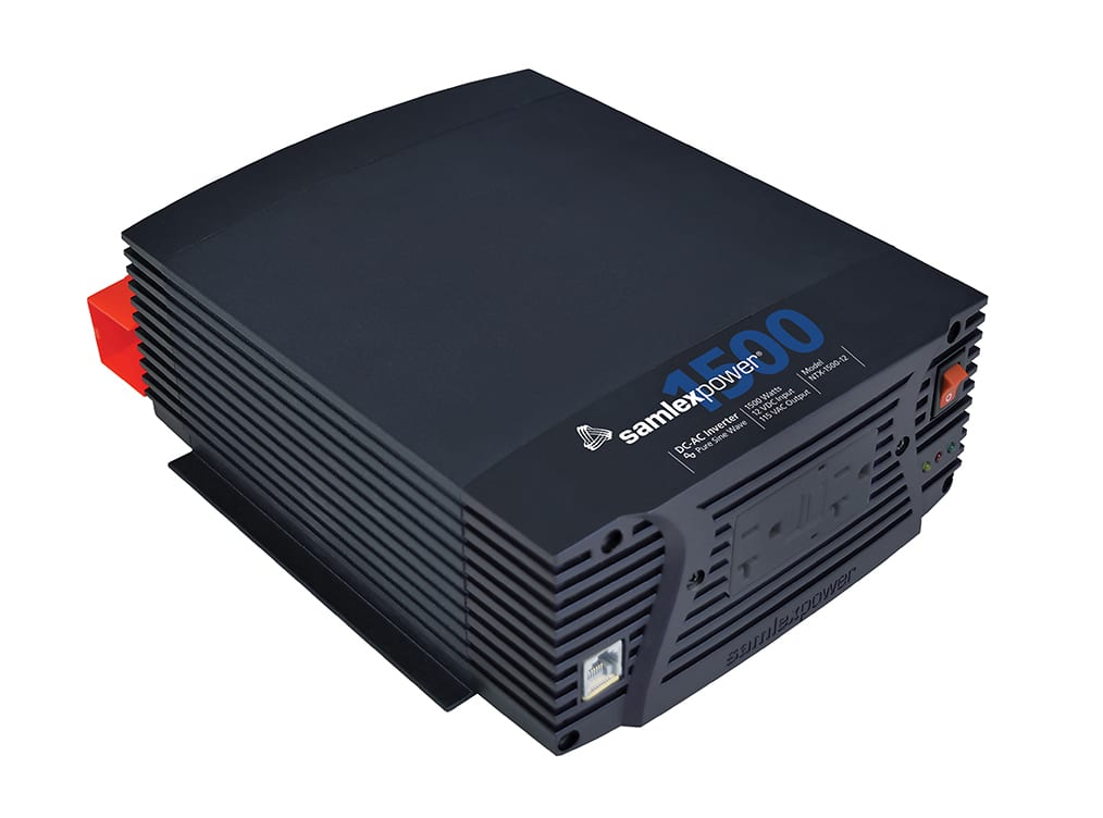 Samlex NTX-1500-12 Pure Sine Wave 1500 Watt Inverter with Remote