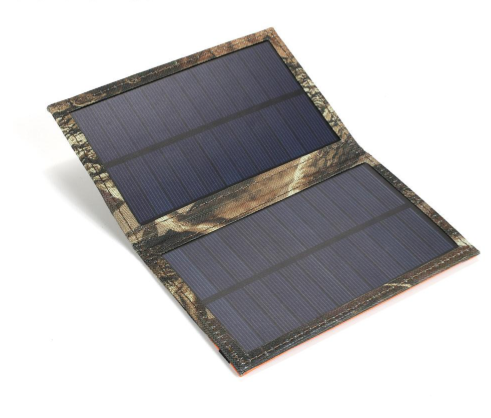 3 Watt Portable Folding Solar Panel with USB  The Cabin Depot- The Cabin Depot Off-Grid Off Grid Living Solutions Cabin Cottage Camp Solar Panel Water Heater Hunting Fishing Boats RVs Outdoors