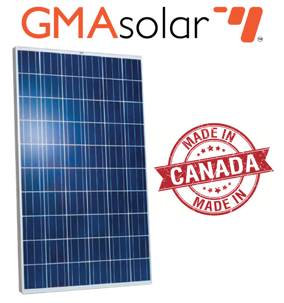 250 Watt Poly Gma Solar Panel The Cabin Depot