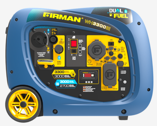 Firman Generator WH03042 Electric Start Whisper Series DUAL FUEL *NEW*