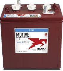 Trojan 6v 225Ah Flooded Deep Cycle T-105 Battery *In Stock!*
