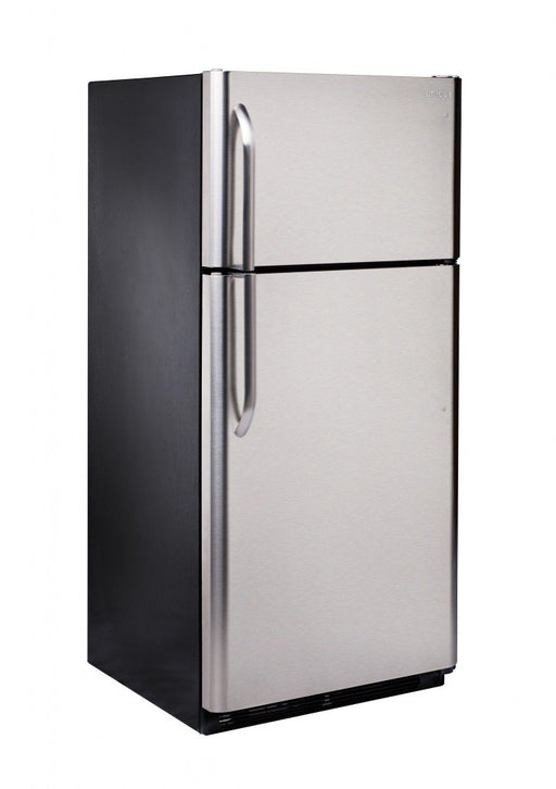Unique 22 cu/ft Propane Fridge Elite - Stainless Steal