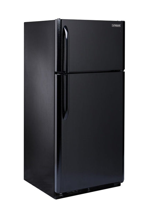 Unique 22 cu/ft Propane Fridge - Black