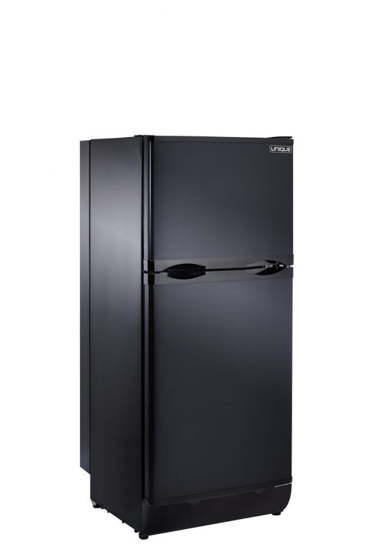 UNIQUE 6 CU/FT Propane Fridge with Freezer - Black