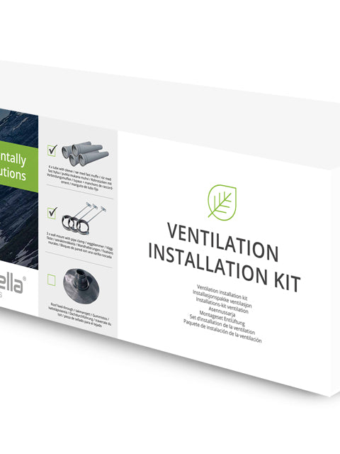 Cinderella Ventilation Installation Kit without Roof Feed-Through