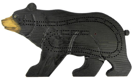 Hand-Carved Bear Cribbage Board Leisure The Cabin Depot- The Cabin Depot Off-Grid Off Grid Living Solutions Cabin Cottage Camp Solar Panel Water Heater Hunting Fishing Boats RVs Outdoors