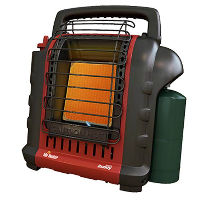 Mr. Heater Portable Buddy Heater Heating Mr Heater- The Cabin Depot Off-Grid Off Grid Living Solutions Cabin Cottage Camp Solar Panel Water Heater Hunting Fishing Boats RVs Outdoors