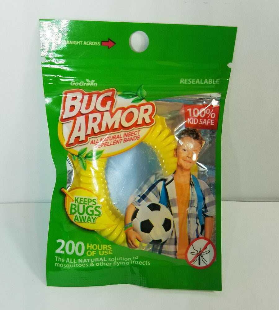 Bug Armor - All Natural Insect Repellent Bands