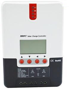SRNE (ML2420) 20 Amp MPPT Charge Controller Alternative Energy The Cabin Depot- The Cabin Depot Off-Grid Off Grid Living Solutions Cabin Cottage Camp Solar Panel Water Heater Hunting Fishing Boats RVs Outdoors