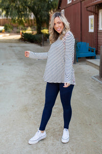 Double Take Long Sleeve Top