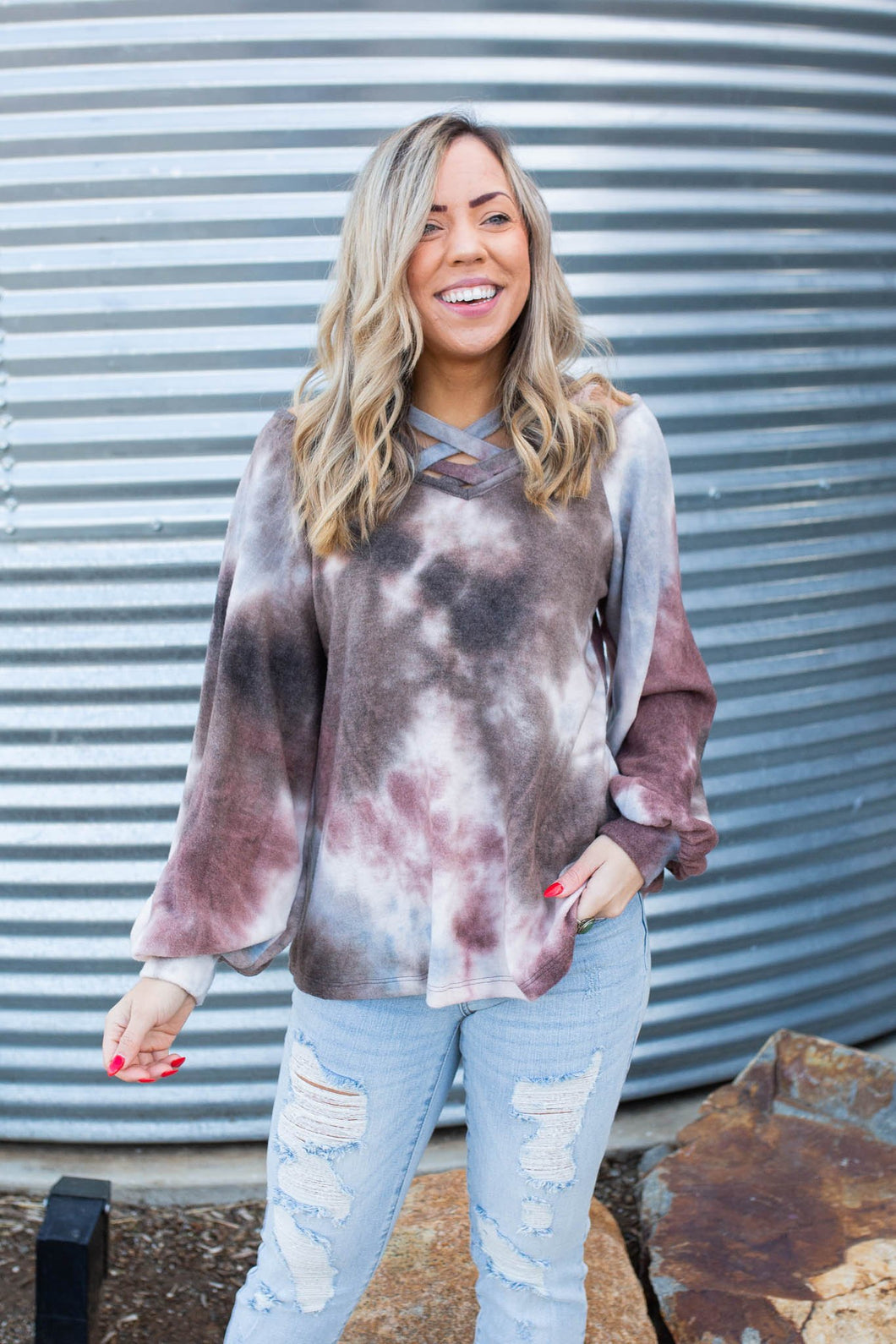 Earth & Sky Brushed Sweater
