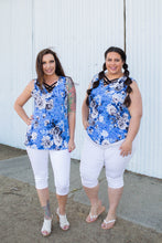 Load image into Gallery viewer, Ocean Breeze Sleeveless Top