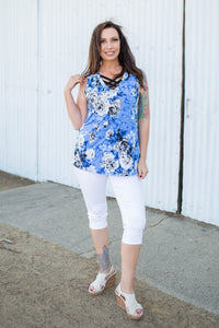 Ocean Breeze Sleeveless Top