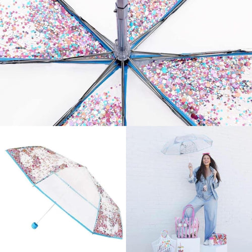 Party Girl Confetti Umbrella