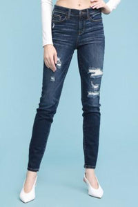 Fuse Patch Destroyed Judy Blue Skinnies