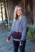 Load image into Gallery viewer, Winter Nights Thumbhole Hoodie