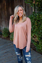 Load image into Gallery viewer, Everyday Long Sleeve Tee in Taupe