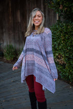 Load image into Gallery viewer, Floral Paths Long Sleeve Tunic