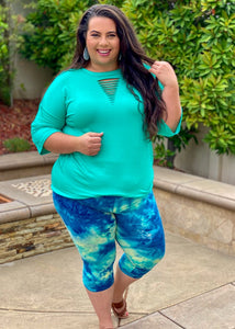 Smooth Sailing Capri Leggings