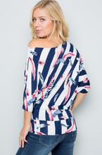 Load image into Gallery viewer, Take Flight Off The Shoulder Dolman