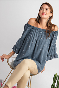 All Heart About It Off Shoulder Top
