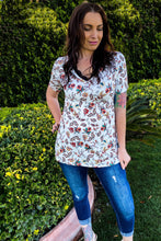 Load image into Gallery viewer, Garden of Romance Short Sleeve