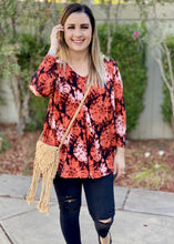 Load image into Gallery viewer, Sedona Sunset Long Sleeve Swing Tunic