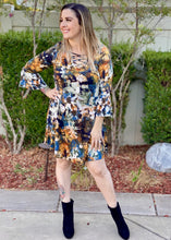 Load image into Gallery viewer, Turn! Turn! Turn! Tunic Dress