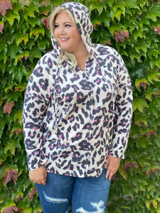 THE Pink Leopard Hoodie