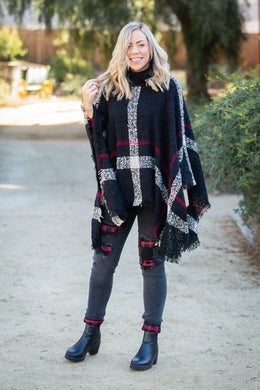 Weekend in the City Poncho