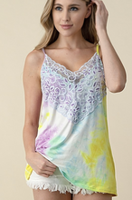 Load image into Gallery viewer, Summer Lovin' Wide Lace Tank