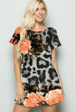 Load image into Gallery viewer, Exotic Rose Romper