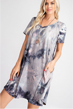 Load image into Gallery viewer, Wrinkle In Time Swing Dress