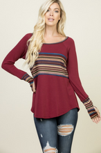 Load image into Gallery viewer, Abby Road Thumbhole Tee