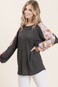 Paradise Dreaming Waffle Knit Top