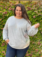 Load image into Gallery viewer, Silver Lining Long Sleeve Top