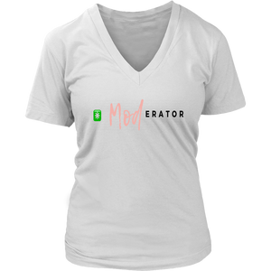 Clubhouse Moderator V-Neck T