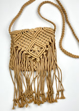 Load image into Gallery viewer, Hippie Chic Macrame Shoulder Bag