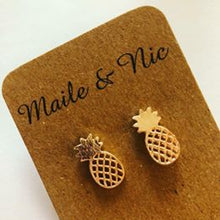 Load image into Gallery viewer, Meilani Pineapple Earrings